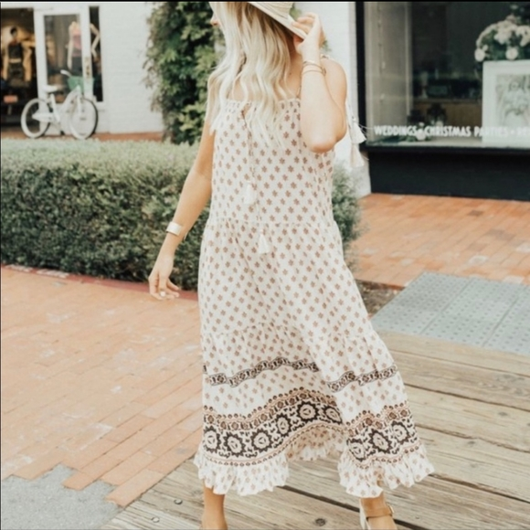 Carly Jean Los Angeles Dresses & Skirts - Carly Jean Los Angeles Isabelle Boho dress